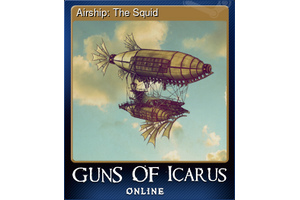 Airship The Squid