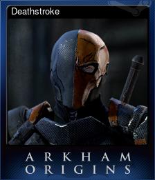 Deathstroke (Trading Card)