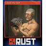 I love my rock (Trading Card)