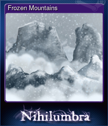 Frozen Mountains (Trading Card)