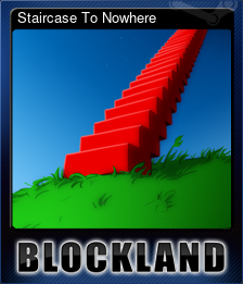 Staircase To Nowhere (Trading Card)