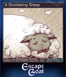 A Slumbering Sheep
