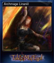 Archmage Linaniil (Trading Card)