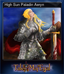 High Sun Paladin Aeryn (Trading Card)