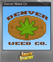 Denver Weed Co (Foil)