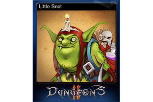 Little Snot Trading Card