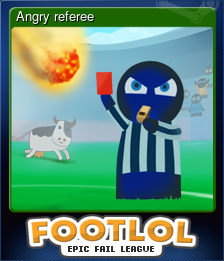 Angry referee