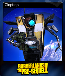 Claptrap (Trading Card)