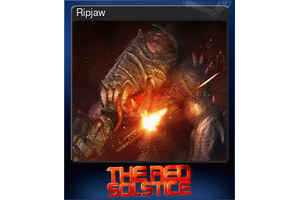 Ripjaw Trading Card