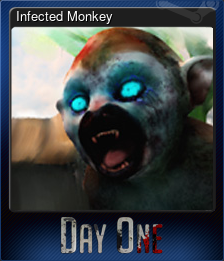 Infected Monkey (Trading Card)