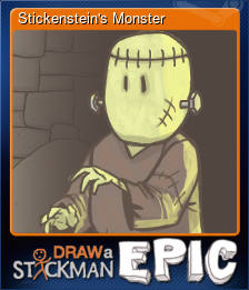 Stickenstein's Monster (Trading Card)