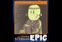 Stickenstein's Monster (Trading Card)