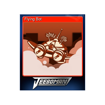 Free Flying Bot Steam Trading Cards - GameTame