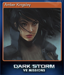 Amber Kingsley (Trading Card)