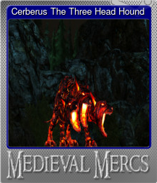 Cerberus The Three Head Hound (Foil)