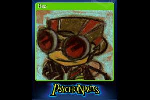Raz Trading Card