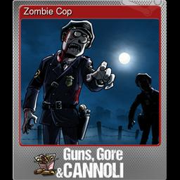 Zombie Cop (Foil)