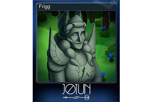 Frigg Trading Card