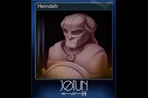 Heimdallr Trading Card