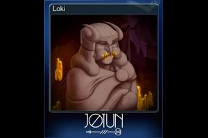 Loki Trading Card