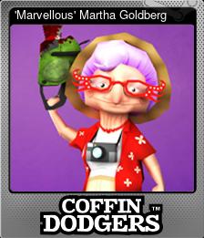 'Marvellous' Martha Goldberg (Foil)