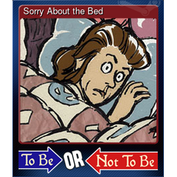 Sorry About the Bed