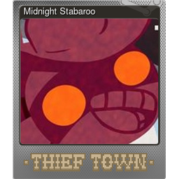 Midnight Stabaroo (Foil Trading Card)