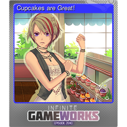 Cupcakes are Great! (Foil)