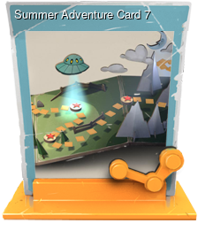 Summer Adventure Card 7