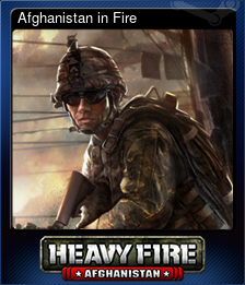 Afghanistan in Fire (Trading Card)