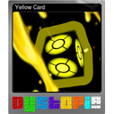 Yellow Card (Foil)