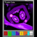 Purple Cube (Foil)