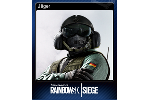 Jager Trading Card