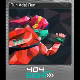 Run Ada! Run! (Foil)