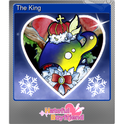 The King (Foil Trading Card)
