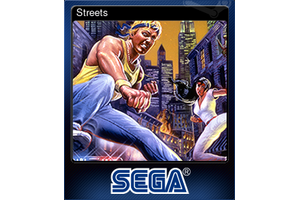 Streets Trading Card