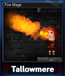 Fire Mage (Trading Card)