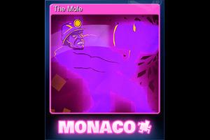 The Mole Trading Card