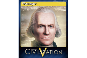 Washington Trading Card