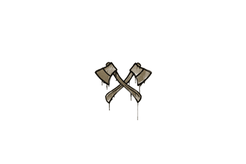 Sealed Graffiti | X-Axes (Dust Brown) Prices