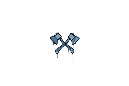 Sealed Graffiti | X-Axes (Monarch Blue) Prices