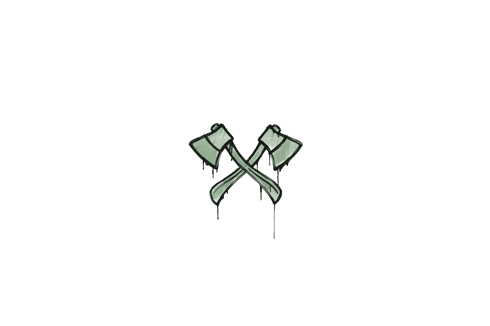 Sealed Graffiti | X-Axes (Cash Green) Prices