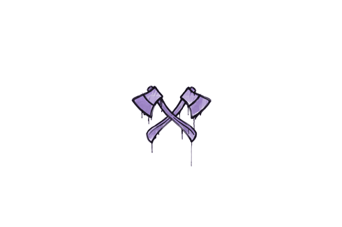 Sealed Graffiti | X-Axes (Violent Violet) Prices