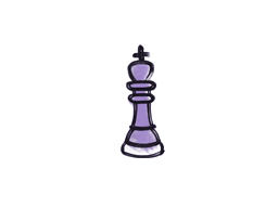Запечатанный граффити | Шахматный король (Жестокий фиолетовый)