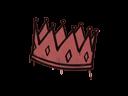 Sealed Graffiti | King Me (Blood Red)