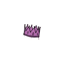 Sealed Graffiti   King Me (Bazooka Pink)