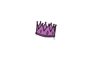 Sealed Graffiti King Me Bazooka Pink