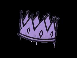 Sealed Graffiti | King Me (Violent Violet)