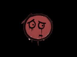 Запечатанный граффити | Волнушка (Кровавый красный)