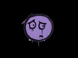 Запечатанный граффити | Волнушка (Жестокий фиолетовый)